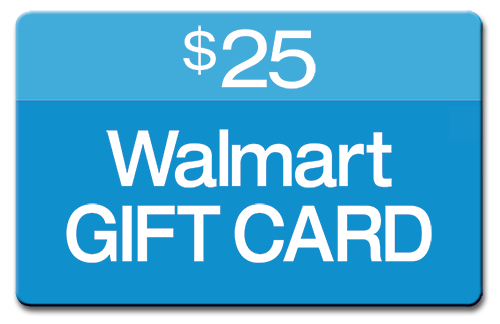 A twenty-five dollar Walmart gift card.